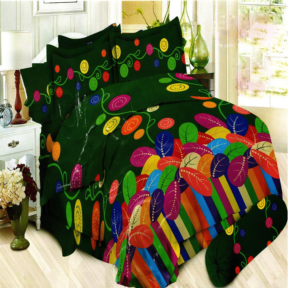 Bonita Sprei King Bantal 4 Motif Donatello - 180x200 cm