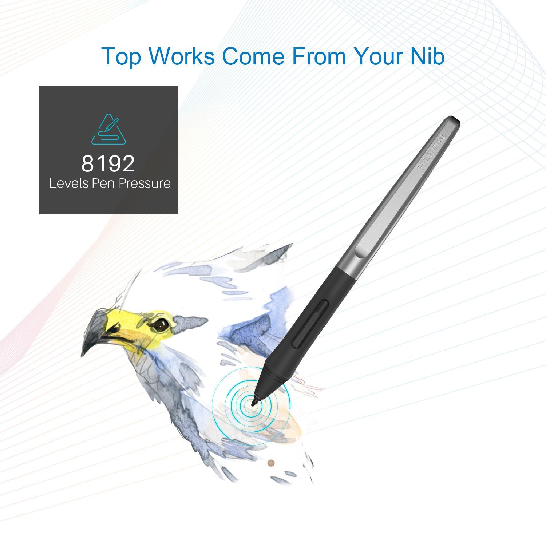 Detail Gambar Huion Battery Free Tablet H1060P 10 x 6.25 Inch Tablet Gambar Grafis dengan 8192