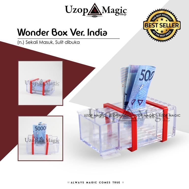 Harga Alat Sulap Wonder Box India Alat Prank Jahil Uzop Magic Shop Yg Bagus