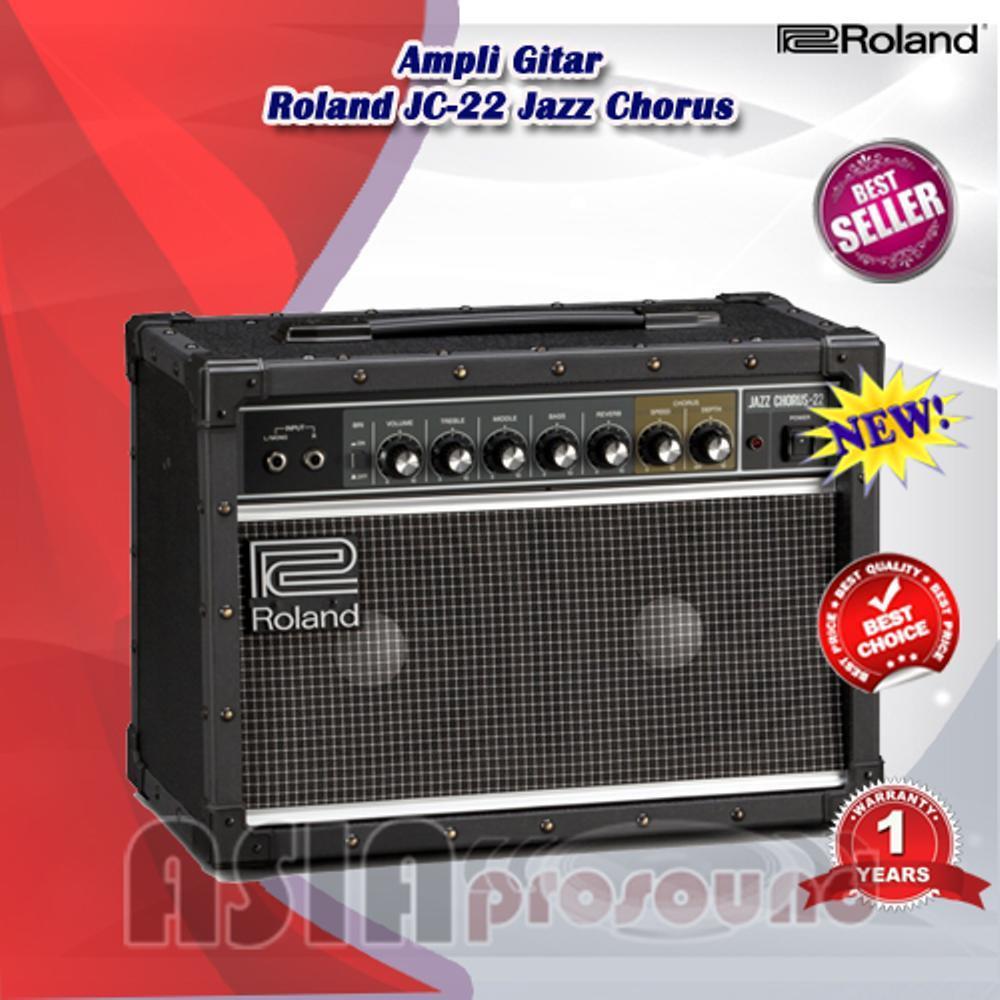 Ampli Gitar Combo Roland JC-22 - JC22 - JC 22 Jazz Chorus