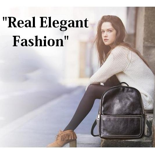 Jcf Tas Ransel Kulit Pu Import Korean Style Bagus Fashion Branded Wanita Remaja Dan Dewasa Queenov Black Terbaru