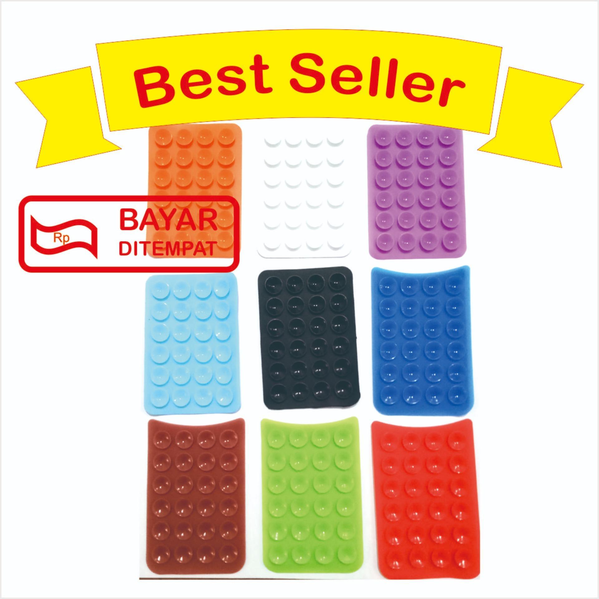 Fitur Paket 5 Pcs Tempelan Belakang Hp Stand Holder Gurita Universal Tentakel Perekat Hb 24 Handphone Random