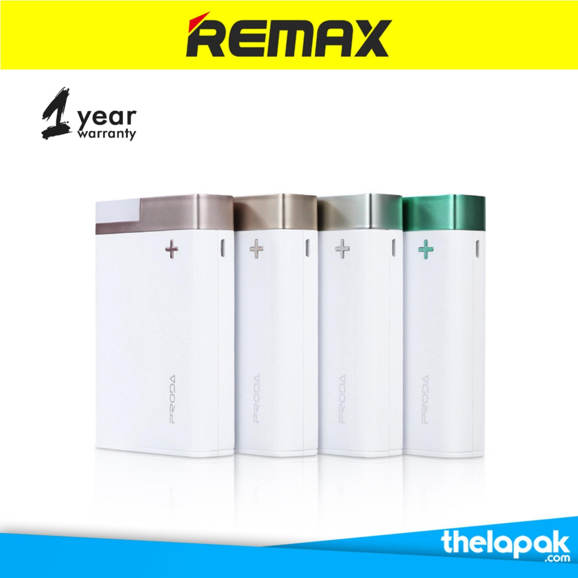 Ulasan Power Bank Garansi Resmi Remax Proda Crave 12 000Mah Ppl 20