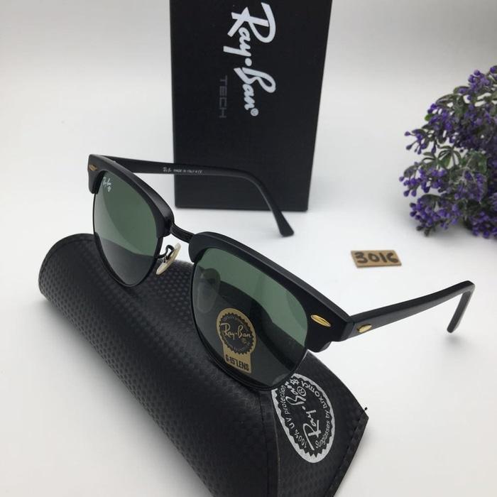 ... aliexpress kacamata rayban clubmaster kaca sunglasses pria wanita hitam  silver ready stock 05007 1f088 36256f372e