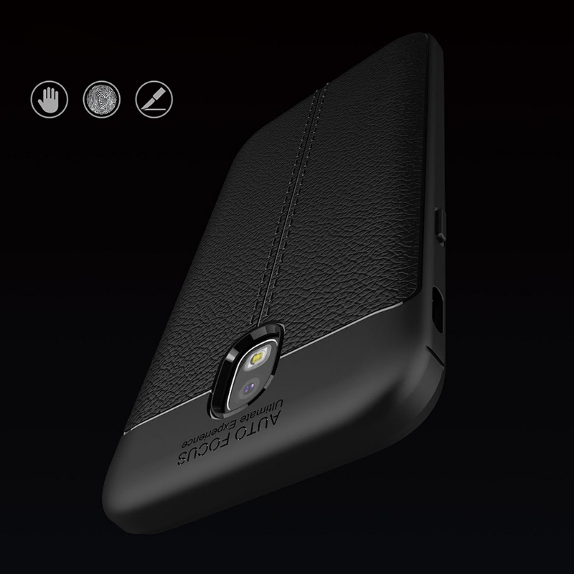 Case Carbon For Samsung Galaxy J5 Pro 2017 Ultraslim Premium Peonia Shockproof J530 Black Hitam Original Lazada Auto Focus