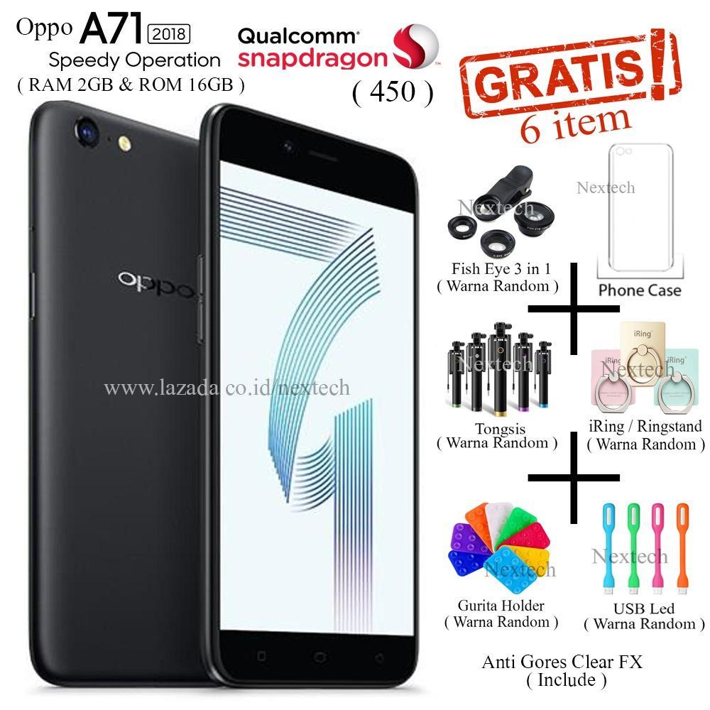 Jual Oppo A71 2018 Ram 2Gb Rom 16Gb 4G Lte 5 2 Snapdragon 450 Black Di Dki Jakarta