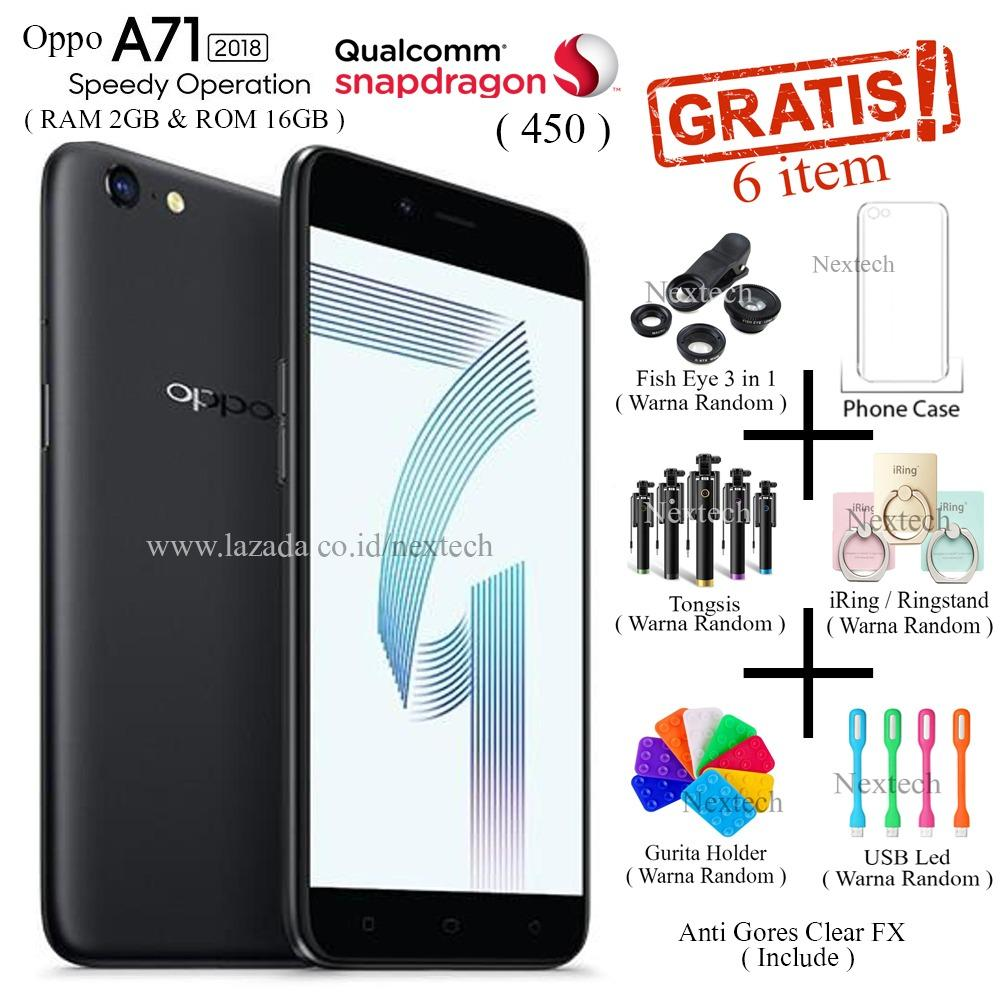 Jual Oppo A71 2018 Ram 2Gb Rom 16Gb 4G Lte 5 2 Snapdragon 450 Black Online