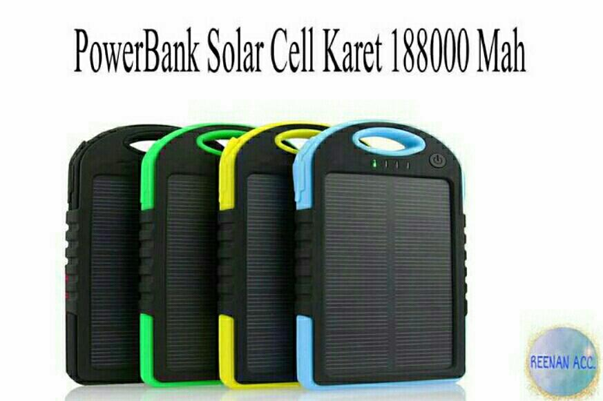 POWER BANK SOLAR CELL KARET 188000 Mah