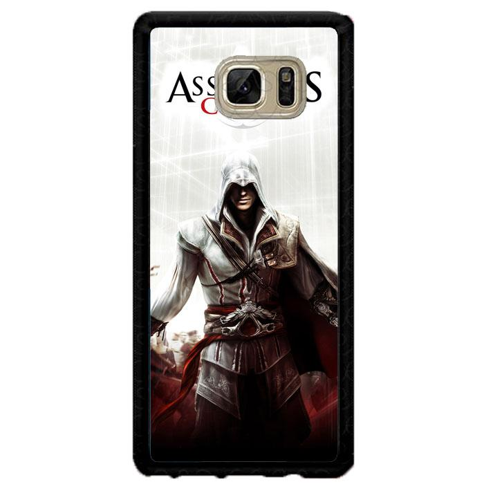 Casing Samsung Galaxy Note FE Note Fan Edition  Custom Hardcase Assassi's Creed II E0022 Case Cover