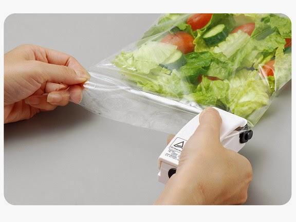 Alat perekat untuk plastik handy sealer