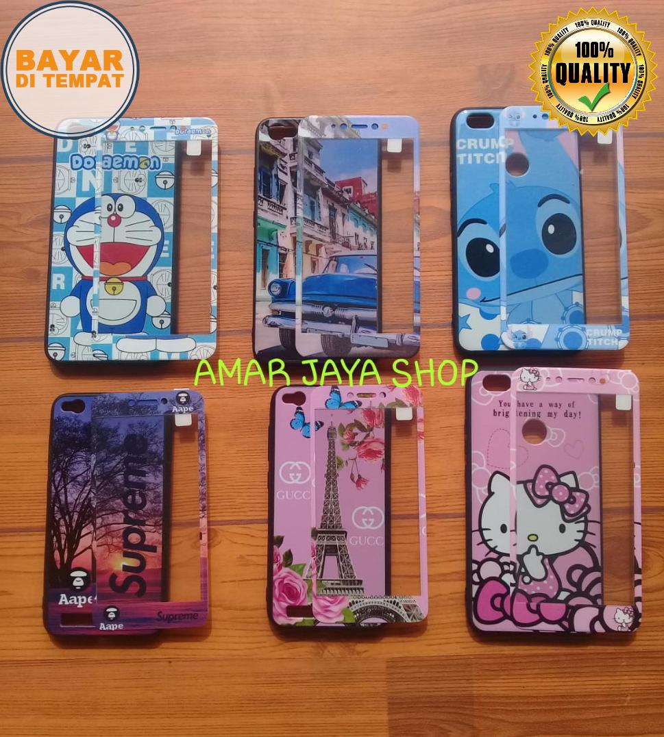 SoftCase Karakter Cantik 360 For OPPO A37 / NEO 9 _Free Tempered Glass Motif Senada Case