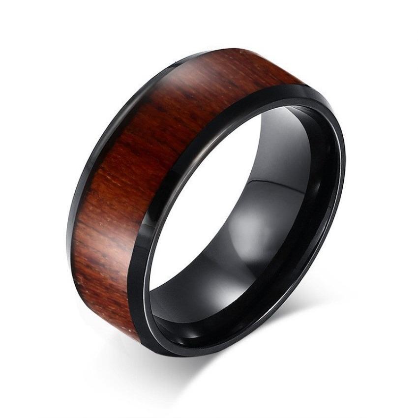 Harga Fashion Mens Pernikahan Ring Kualitas Atas Wolfram Karbida Cincin Pertunangan Kayu Desain Perhiasan Intl Murah