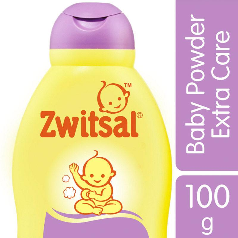 Zwitsal Baby Powder Extra Care With Zinc 100g