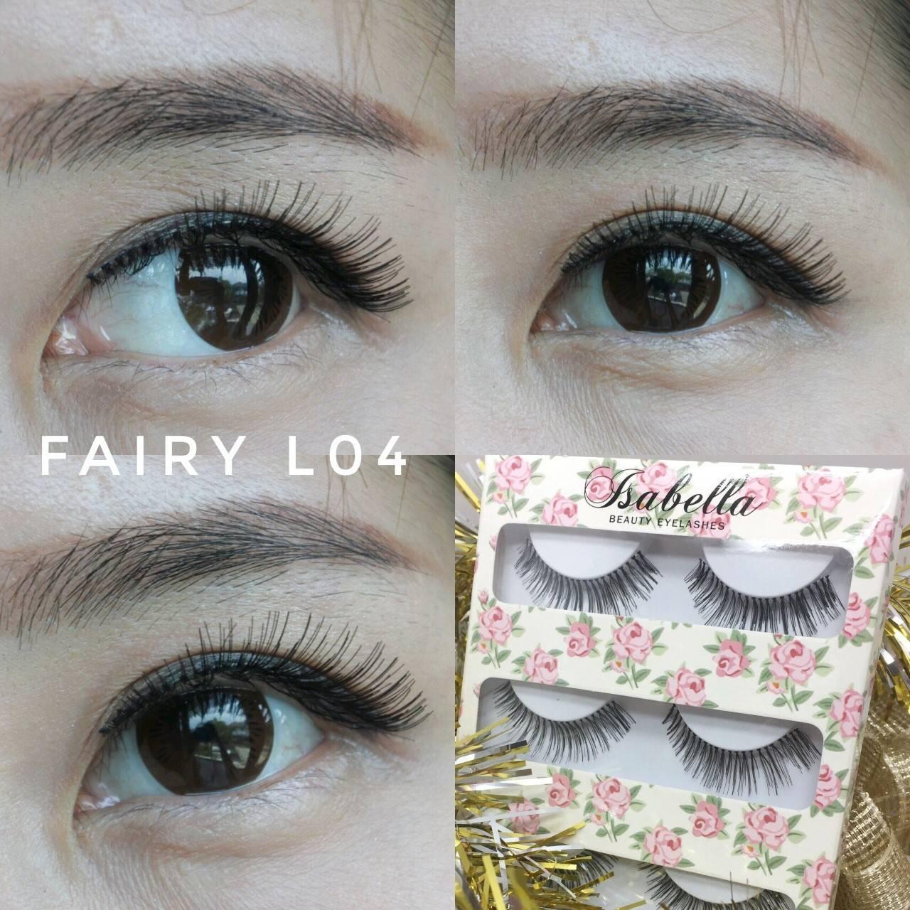 Isabella Beauty Eyelashes : Bulu Mata Palsu Fairy L04 isi 3 pasang