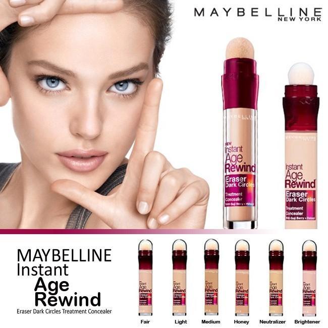 Maybelline Instant Age Rewind Eraser Concealer & Fit Me Concealer Instant fair 110