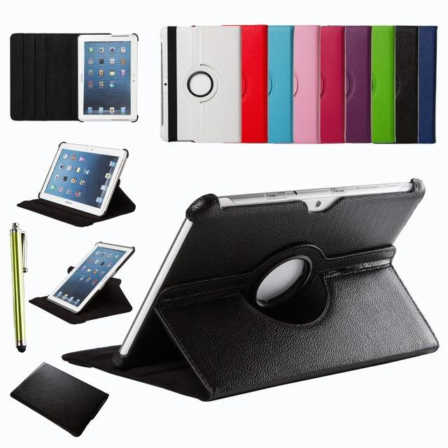 Flip Cover / Leather Case / Samsung Tab 3 10.1 / P5200 - Rotary Case 360