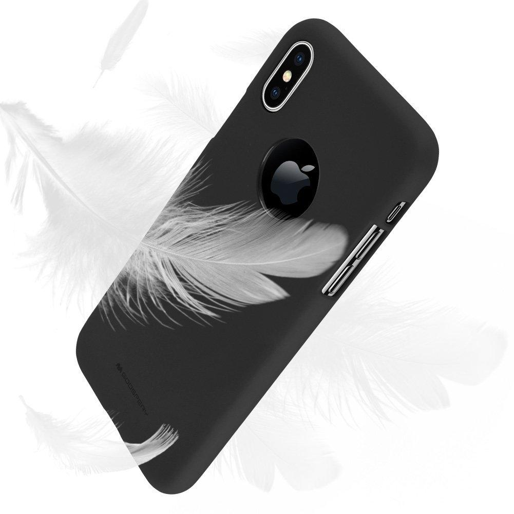 Kelebihan Mercury Soft Feeling Tpu Case For Iphone X Black Terkini Goospery 7 Plus Jelly With Hole Stone 3