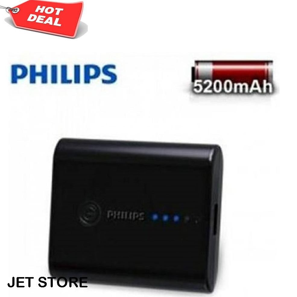 Top 10 Philips Original Power Bank 5200 Mah New Dlp 5202 Online