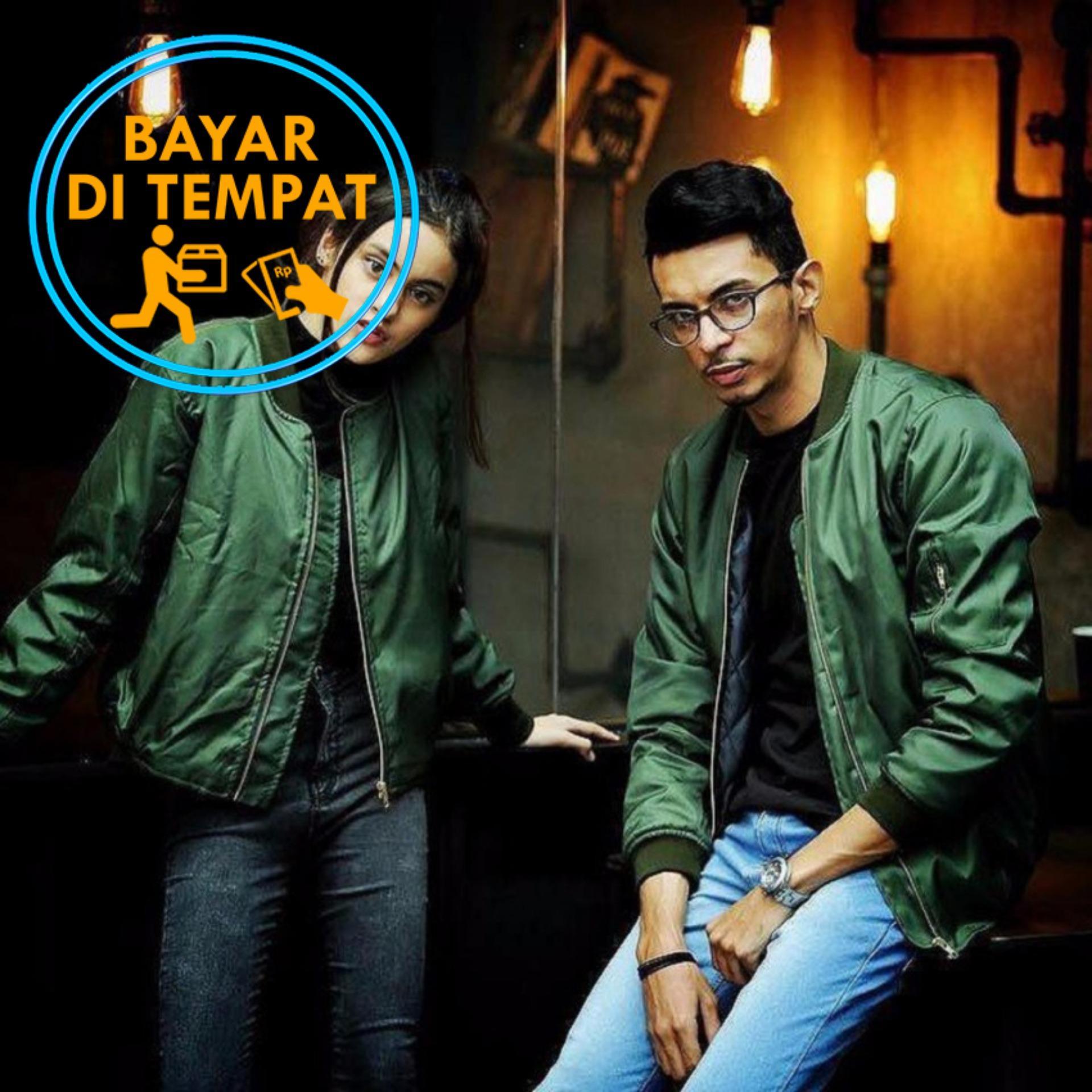 Toko Jaket Murah Bomber Couple Green Termurah Di Indonesia