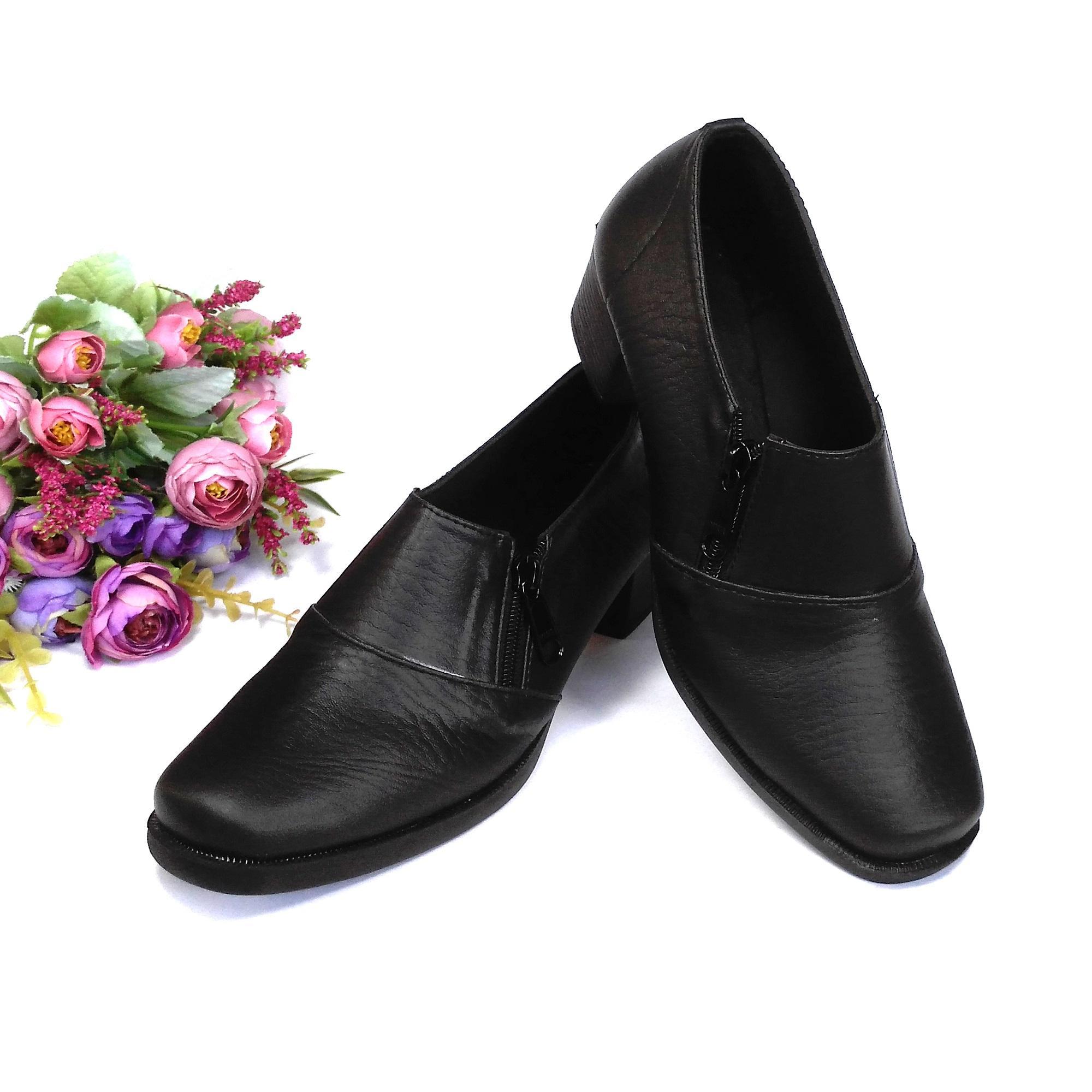 Detail Gambar HQo Sepatu Pantofel Wanita Sepatu Boot Wanita Sepatu Pantofel Paskibra Wanita Bertali Sepatu Kerja Wanita Sepatu Kantor Wanita