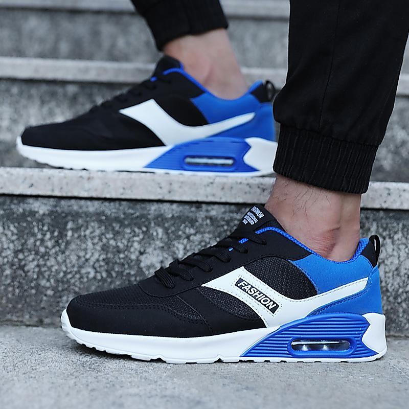 ... Zyats Modis Baru Sneakers Non-slip Jaring Bernapas Luar Ruangan Santai  Guncangan Absorber Sepatu Lari ... dd89fc9e92