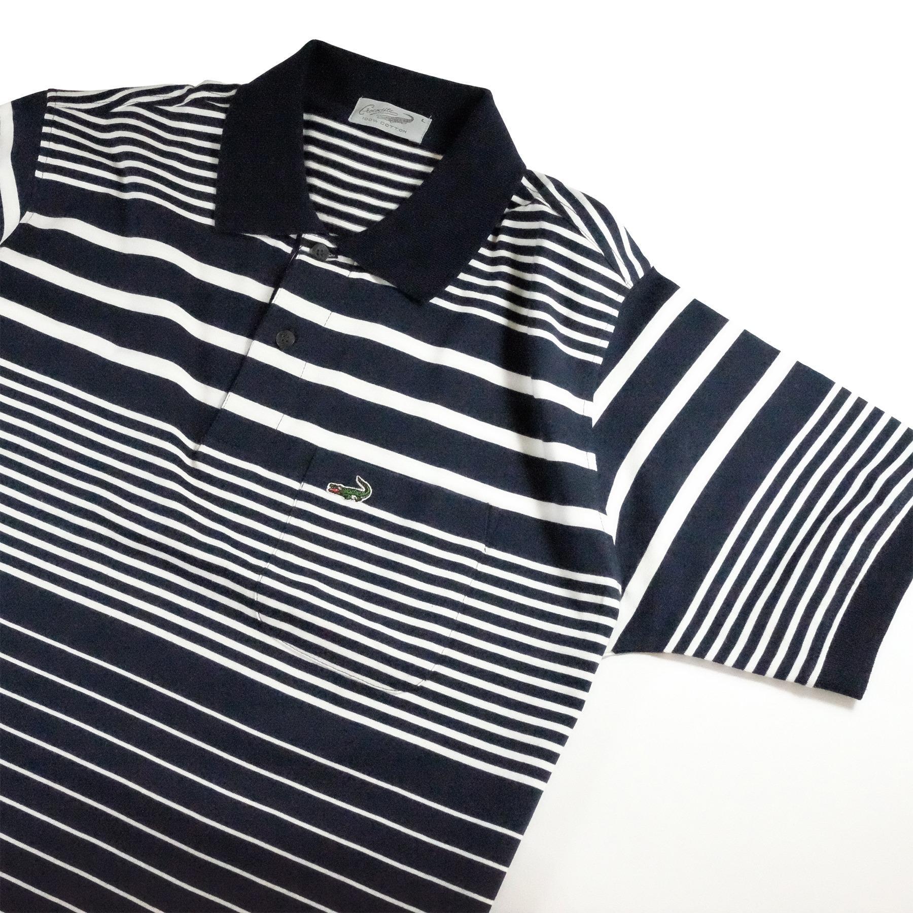 Baju Pria Crocodile Men Premium Polo Shirt Bahan Katun 100 Cotton Palm Relax Fit White L Pepe Dark Navy