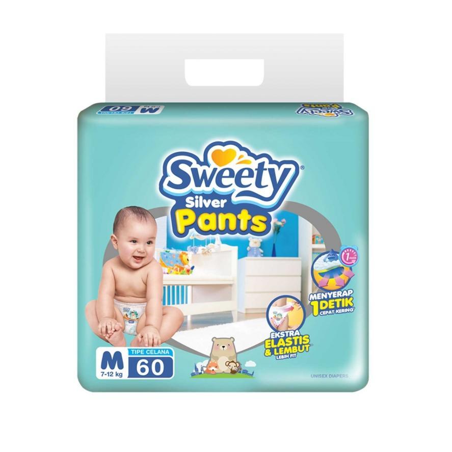 Beli Sweety Silver Pants Popok Bayi Dan Anak Unisex Diapers Tipe Celana Banten