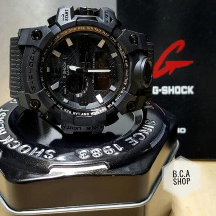 Jam Tangan Casio G Shock / Casio G Shock Gwg 1000 Mudmaster Kw Hitam - 18Q9pa