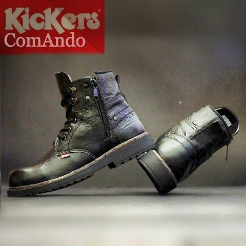 SEPATU KICKERS BOOTS PRIA SAFETY