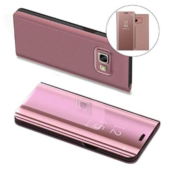 Case Executive Chanel Samsung Galaxy J7 Prime Flipcase Flip Mirror Cover S View .