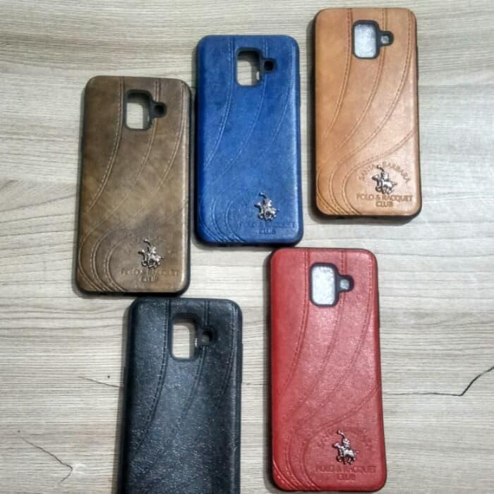 Fitur Leather Case Polo Santa Barbara Samsung A6 Plus 2018 Dan Harga