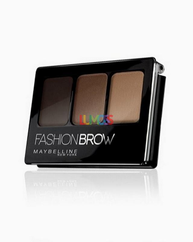 Maybelline Fashion Brow  3D Palette Dark Brown  3gr
