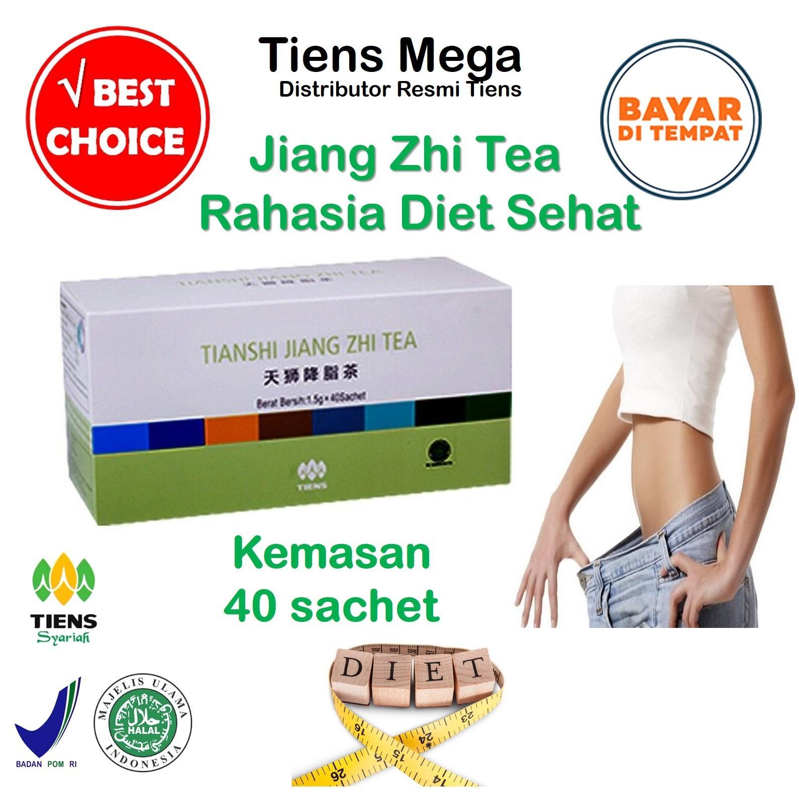 Ulasan Tentang Tiens Jiang Zhi Tea Solusi Diet Sehat Paket Promo Banting Harga 40 Sachet Gratis Kartu Diskon Tiens Mega