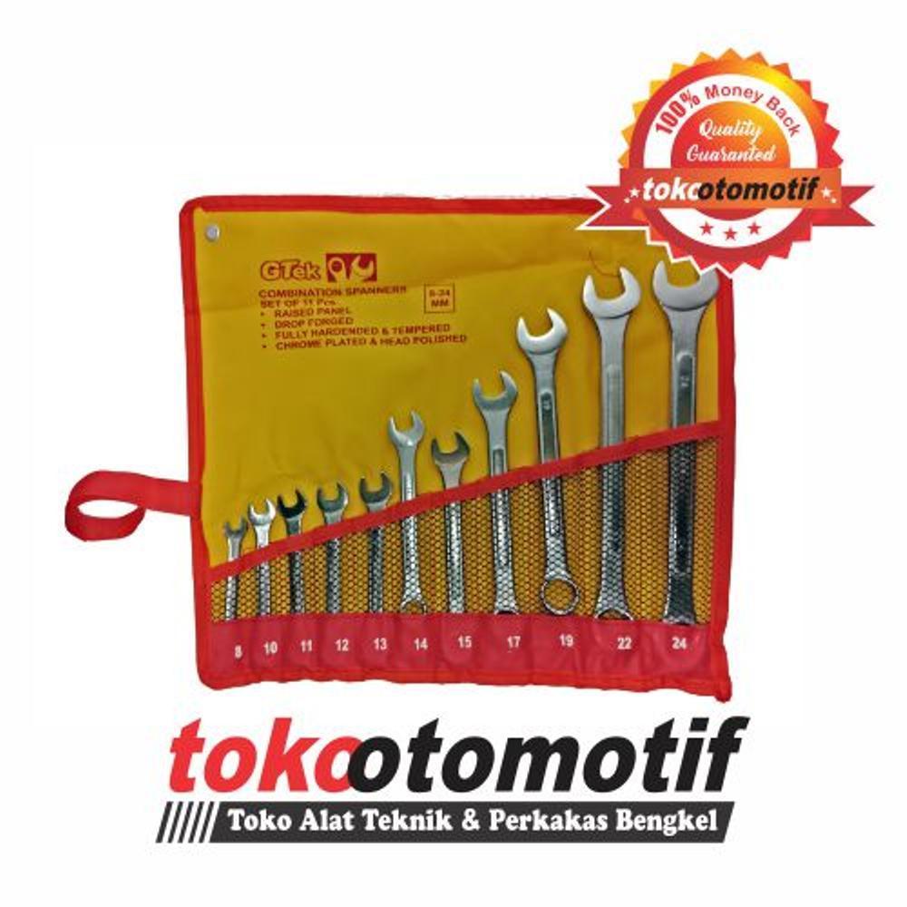 Kenmaster Kunci Ring Pas Set 11 Pcs Ukuran 8 24 Mm Daftar Harga Combination Wrench Aizu 14pcs Gtek