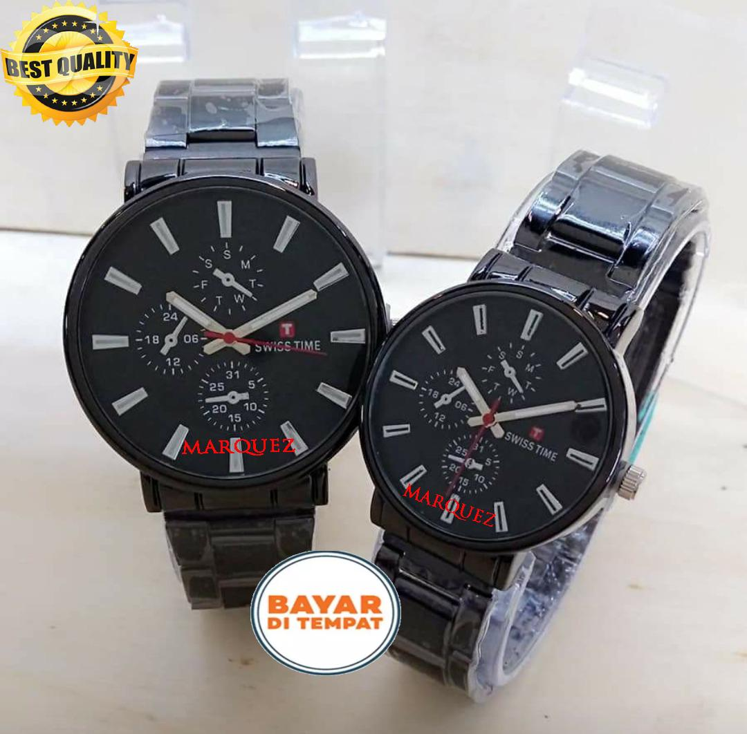 Swiss Army/Time Jam Tangan Pria&Wanita (Couple)-New Edition