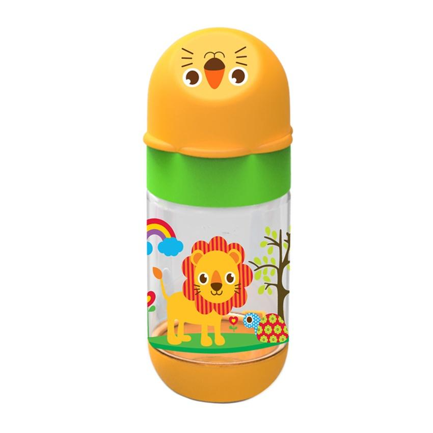 Baby Safe Feeding Bottle AP001 Animals 125ml - Botol Susu Bayi BPA Free - 3