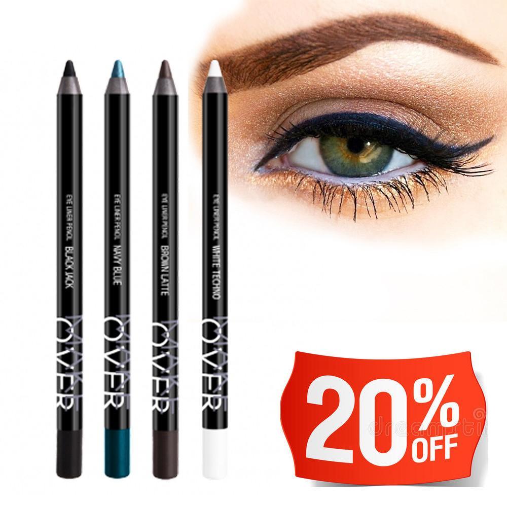 Lihat Viva Queen Eye Liner Pencil 1 3 G Coklat Dan Harga Terbaru Perfect Shape Matic 035 Ml Hitam Make Over Makeover Eyeliner