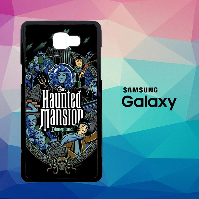 Haunted Mansion Disneyland L2473 Casing Custom Hardcase Samsung Galaxy J7 Prime Case Cover