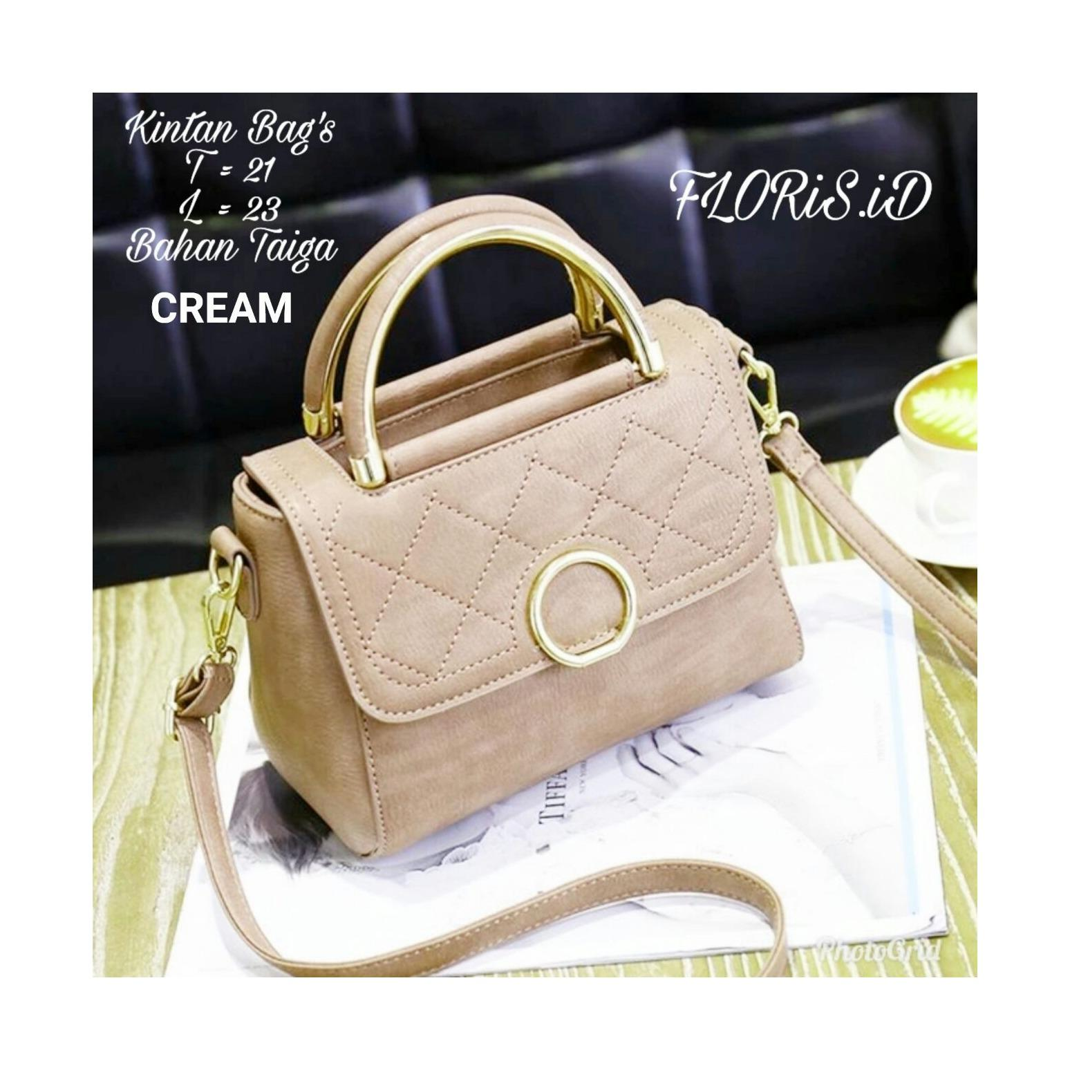Buy Sell Cheapest Shoppies Tas Branded Best Quality Product Deals Vicria Wanita High Elegant Korean Bag Style Pink With Pompom Kintan Leather