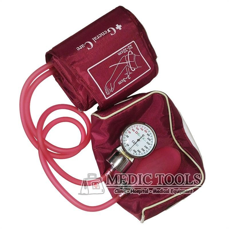 Beli General Care Tensimeter Aneroid Transparant Maroon General Care Online