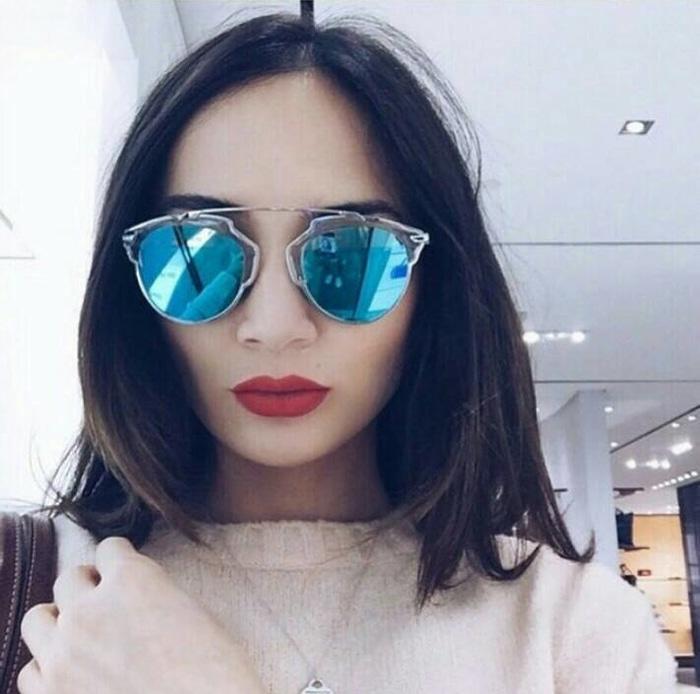 PROMO KACAMATA sunglasses NAGITA SLAVINA kacamata so real kc 148 blue