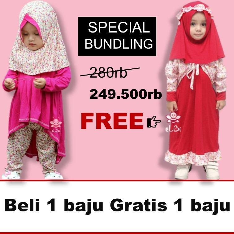Beli Baju Muslim Anak Perempuan Farah Legging Set 1 2Thn Pake Kartu Kredit
