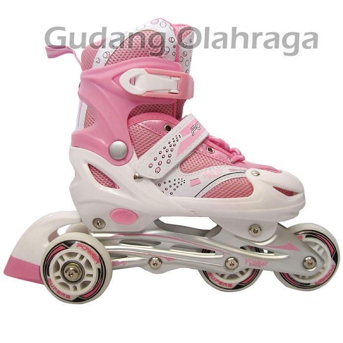 Cek Harga Baru Sepatu Roda Bajaj Pink Deker Pelindung Inline Skate ... 8a5931c98c
