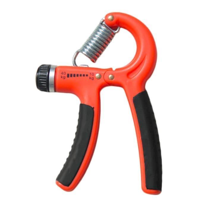 Handgrip Hand Grip 10-40 kg Alat bantu fitness Otot lengan Portable - 2