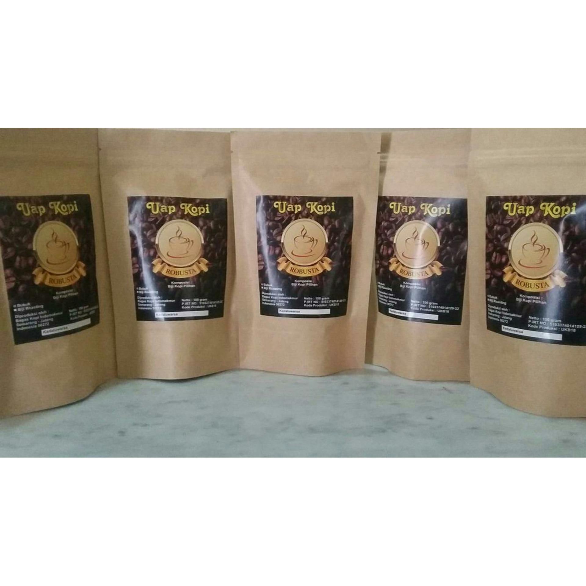 Uap Kopi Biji Roasting Robusta Premium 2 Bungkus Daftar Harga Bubuk Arabika Super Koffie Warung Tinggi Coffee 250 Gram 3 100 Murni