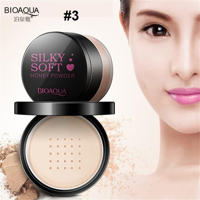 Bioaqua Silky Soft Honey Powder Bedak Tabur Bioaqua No.3