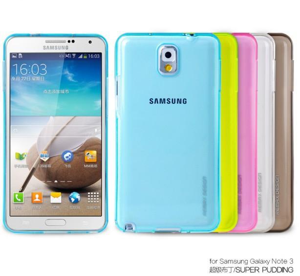 Samsung Set Note3/Sm-n900/N9005 Transparan Lulur Silikon Lunak Casing HP