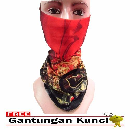 Review Galaksi Buff Masker Multifungsi Seamless Wear 03 Free Gantungan Kunci Multicolor