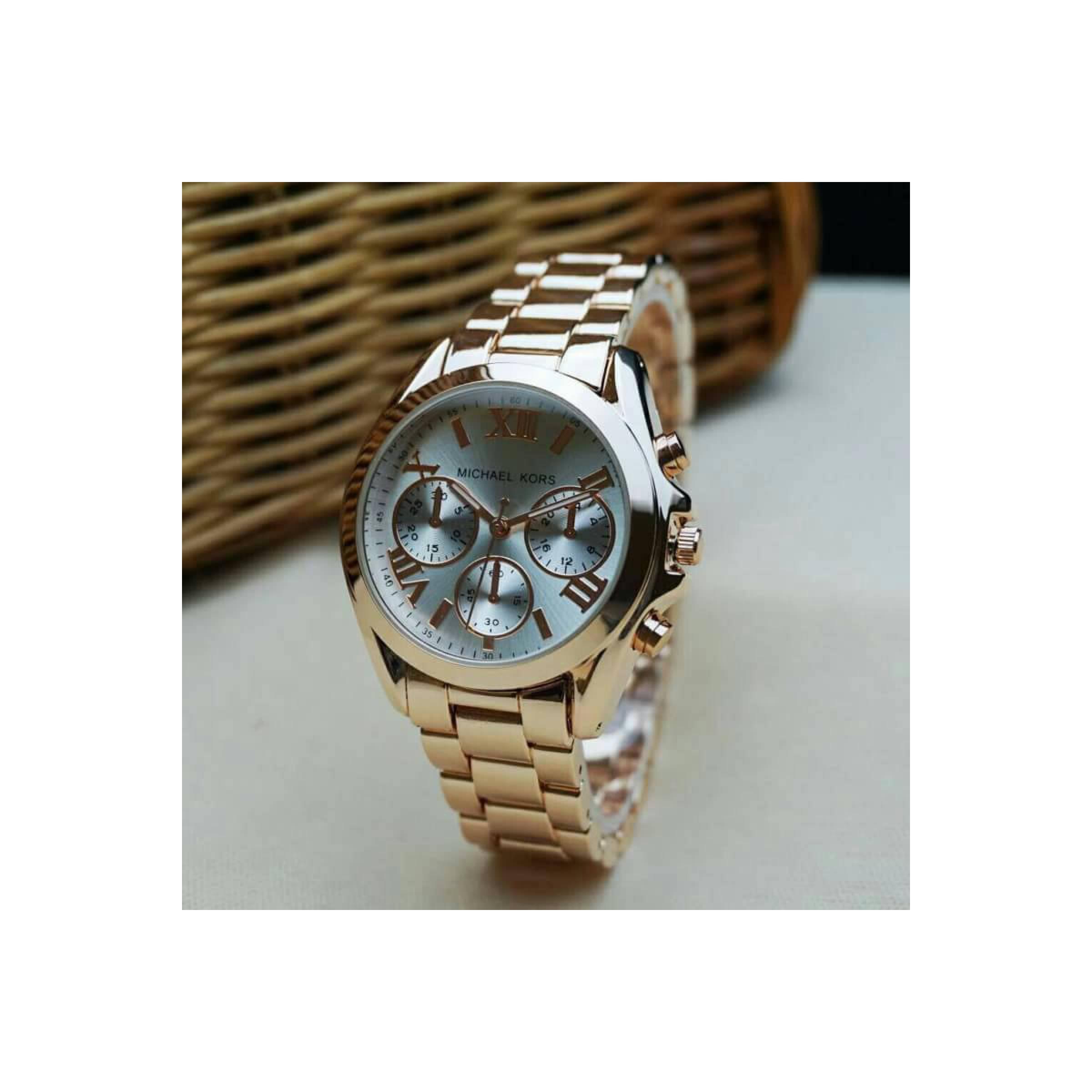 jam tangan Wanita/pria Michael Kors Chrono off