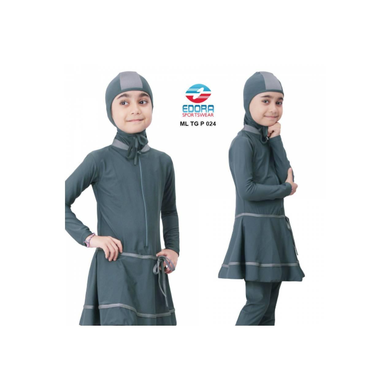 Kelebihan Baju Renang Muslim Muslimah Anak Sd Abg Perempuan Cewe Edora Ml Tg P